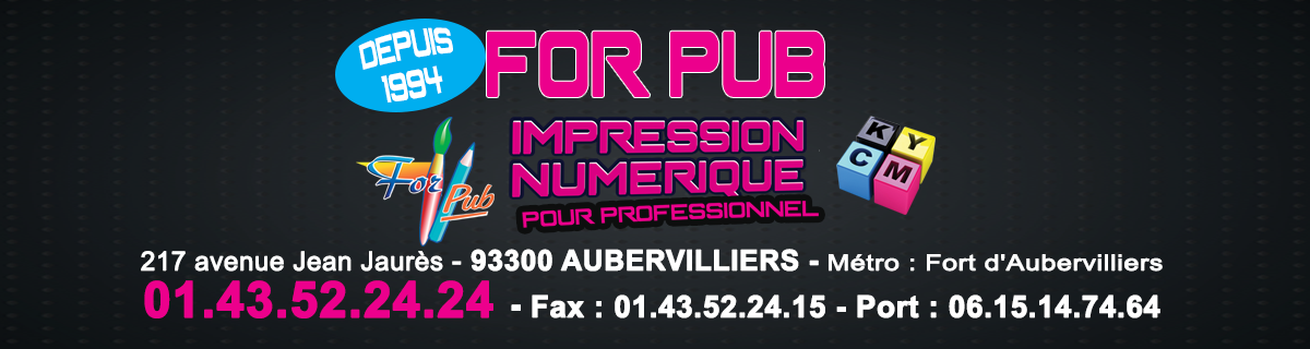 For Pub Impression numérique